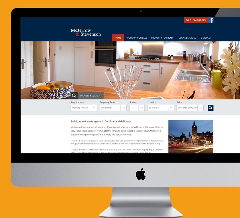 estate agency web design