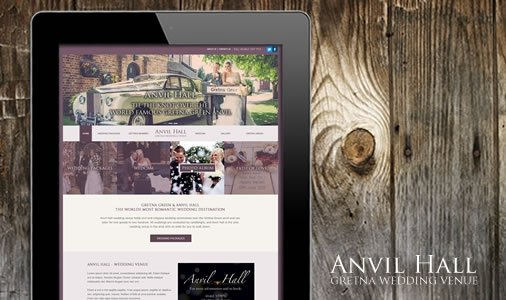 anvil hall gretna web design 2
