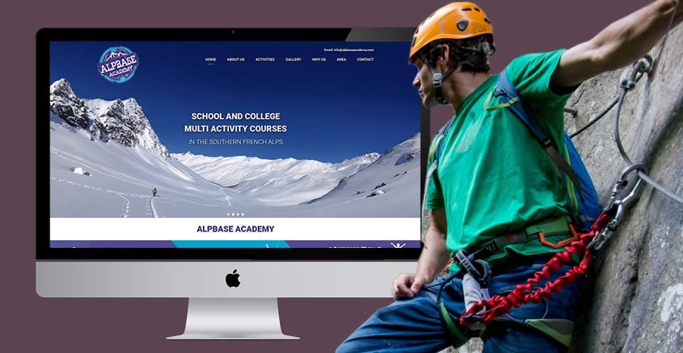 alpbase academy cms website
