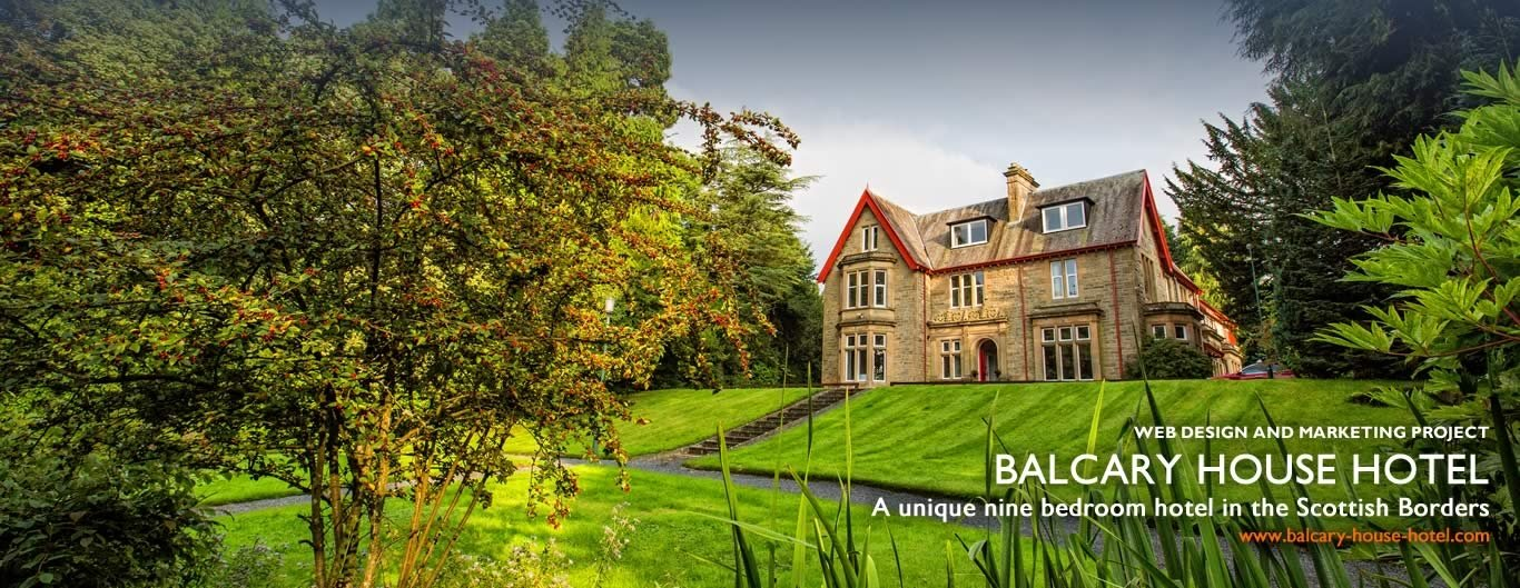 web design hotel in scottish borders